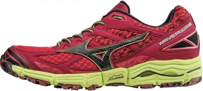 Mizuno Wave Mujin 2 red/black/yellow