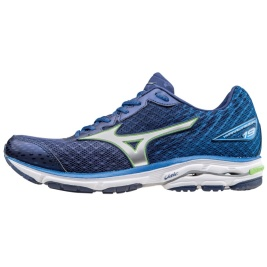 Mizuno Wave Rider 19 blue