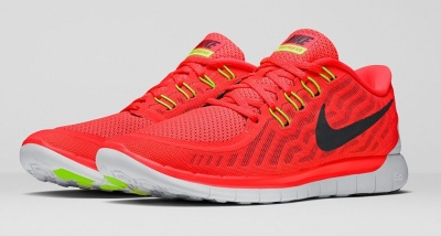 Nike Free 5.0 red/white/yellow